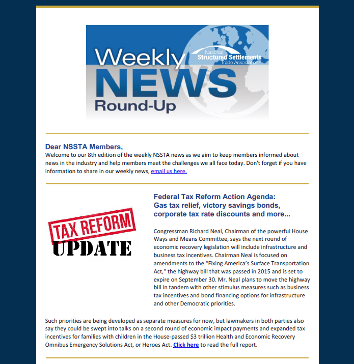 NSSTA News Week 8