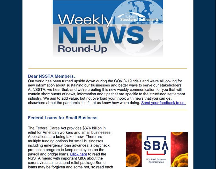 Weekly News Roundup 1