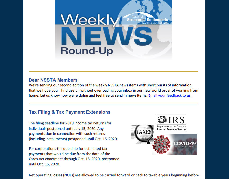 Weekly News Roundup 2