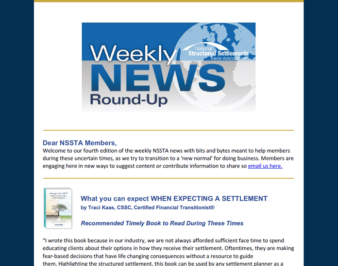 Weekly News Roundup 4